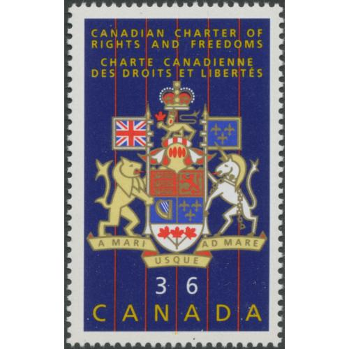 Canada 1987 SG1239 36c. Fifth Anniversary of Canadian ...