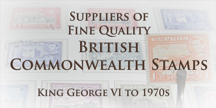 Welcome to British Commonwealth Stamps